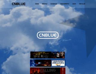 cnblue-official.jp screenshot