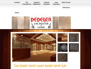 cnclazerkesimizmir.com screenshot