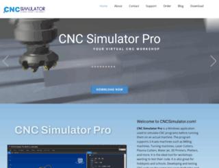 cncsimulator.info screenshot
