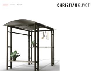 cnguyot.squarespace.com screenshot