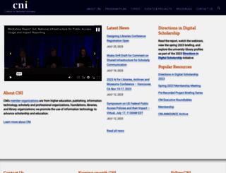 cni.org screenshot