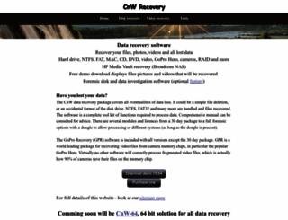 cnwrecovery.com screenshot