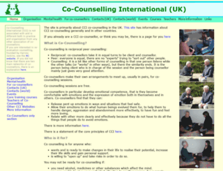 co-counselling.org.uk screenshot