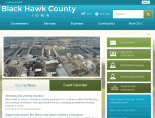 co.black-hawk.ia.us screenshot