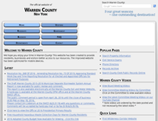 co.warren.ny.us screenshot