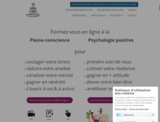 coach-meditation.com screenshot