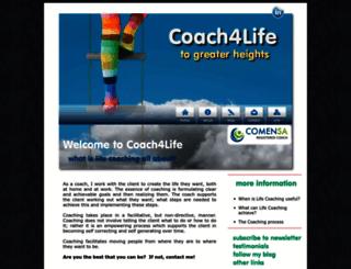 coach4life.co.za screenshot