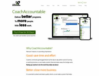coachaccountable.com screenshot