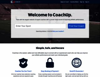 coachup.com screenshot