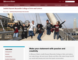 coal.missouristate.edu screenshot
