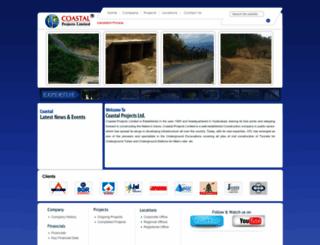 coastalprojects.co.in screenshot