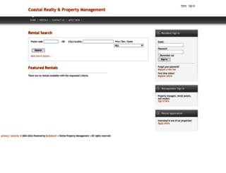 coastalpropertymanagement.managebuilding.com screenshot