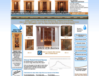 coastalsaunas.com screenshot
