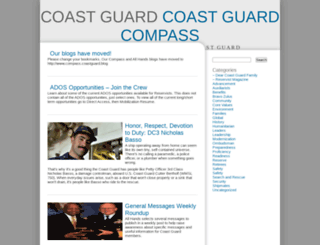coastguard.dodlive.mil screenshot