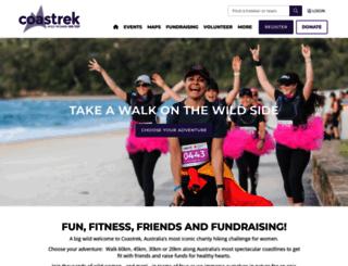 coastrek.com.au screenshot