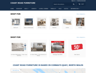 coastroadfurniture.co.uk screenshot