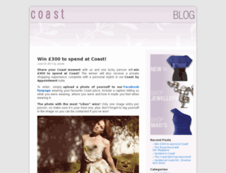coaststores.wordpress.com screenshot