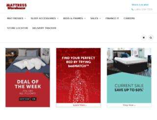coasttocoastmattress.com screenshot