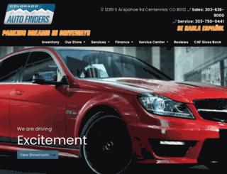 coautofinders.com screenshot