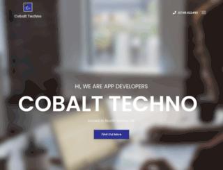 cobalttechno.com screenshot