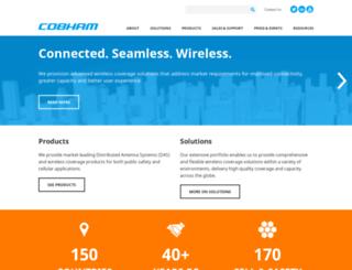 cobhamwireless.com screenshot