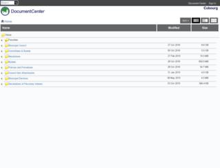 cobourg.civicweb.net screenshot