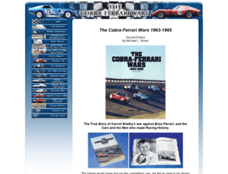 cobraferrariwars.com screenshot