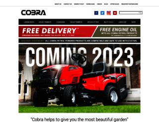 cobragarden.co.uk screenshot