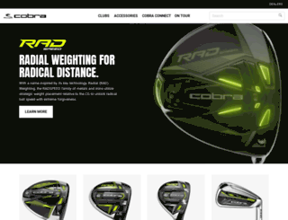 cobragolf.co.kr screenshot