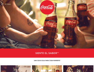 coca-cola.cl screenshot