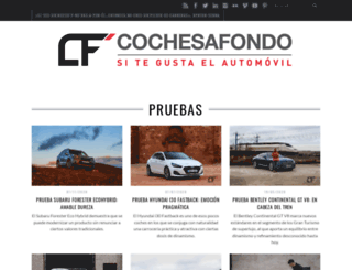 cochesafondo.com screenshot