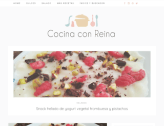 cocinaconreina.blogspot.com.es screenshot