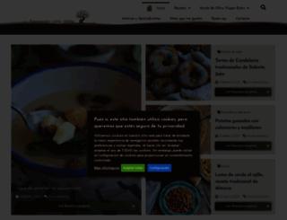 cocinandoentreolivos.blogspot.com.es screenshot