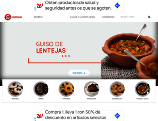 cocinerosargentinos.com screenshot