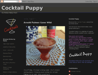 cocktailpuppy.blogspot.com screenshot