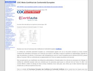 cocmoto.com screenshot