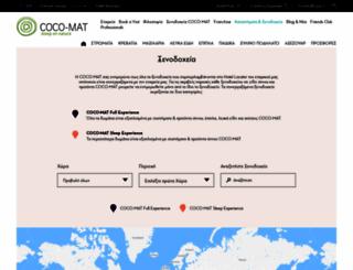 coco-mat-hotels.com screenshot