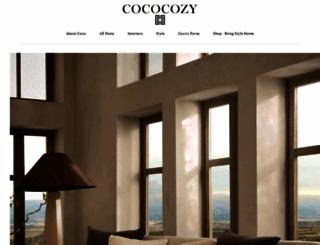 cococozy.com screenshot