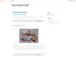 cococutecraft.blogspot.com screenshot