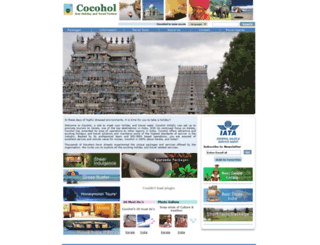 cocohol.com screenshot
