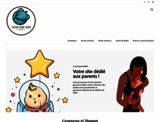 coconpourbebe.com screenshot