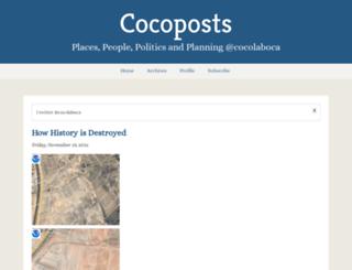 cocoposts.typepad.com screenshot