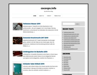 cocovpn.info screenshot