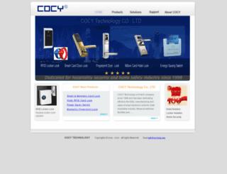 cocylock.com screenshot