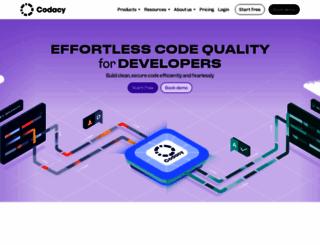 codacy.com screenshot