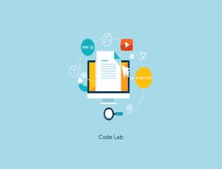 code-lab.co.uk screenshot