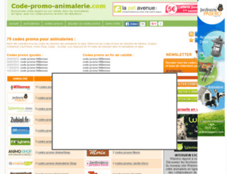code-promo-animalerie.com screenshot