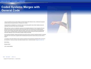 codedsystems.com screenshot