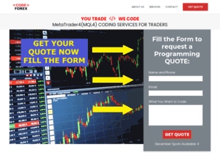 codeforex.com screenshot