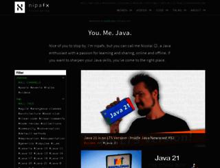 codefx.org screenshot